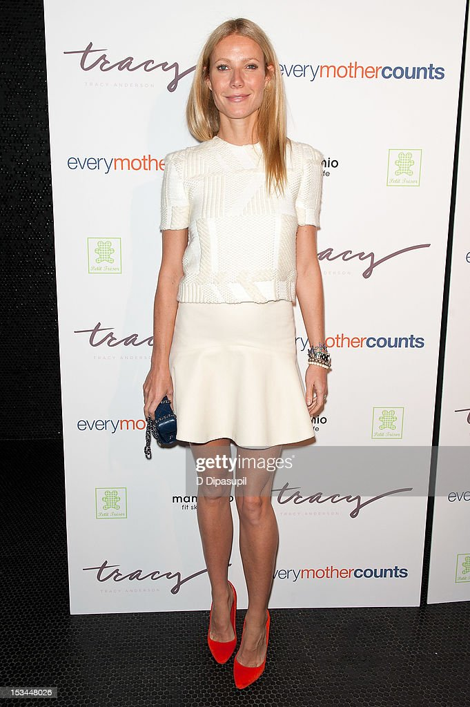 Gwyneth Paltrow attends The Tracy Anderson Method Pregnancy Project at Le Bain At The Standard on October 5, 2012 in New York City.