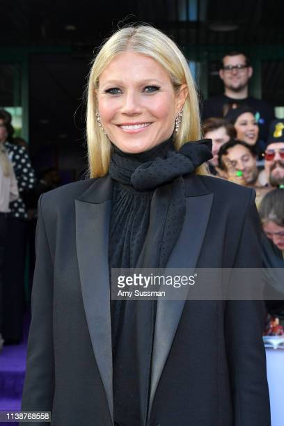 Gwyneth Paltrow attends the world premiere of Walt Disney Studios Motion Pictures Avengers Endgame at the Los Angeles Convention Center on April 22...