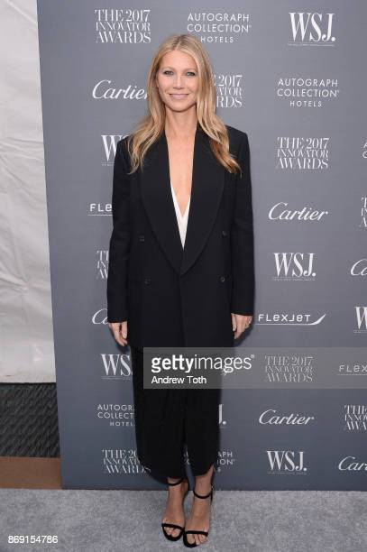 Gwyneth Paltrow attends the WSJ Magazine 2017 Innovator Awards at MOMA on November 1 2017 in New York City