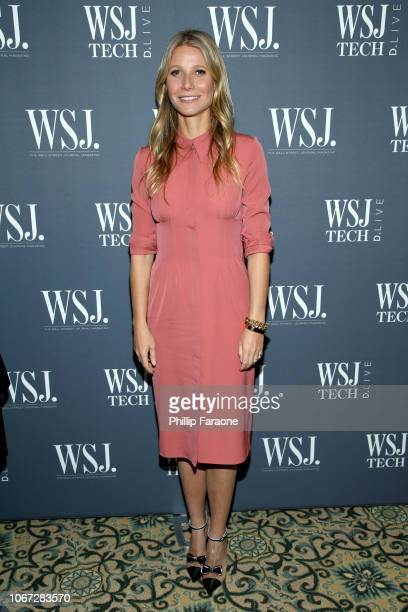 Gwyneth Paltrow attends the WSJ Tech D.Live at Montage Laguna Beach on November 13, 2018 in Laguna Beach, California.