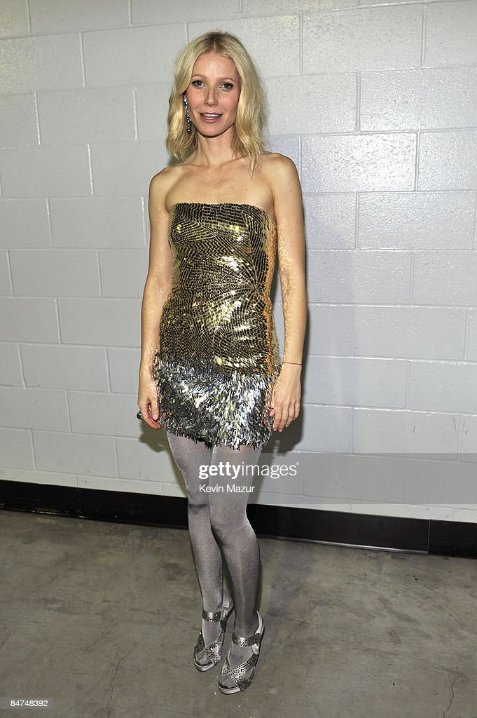 *EXCLUSIVE* Gwyneth Paltrow backstage at the 51st Annual GRAMMY Awards at the Staples Center on February 8, 2009 in Los Angeles, California.