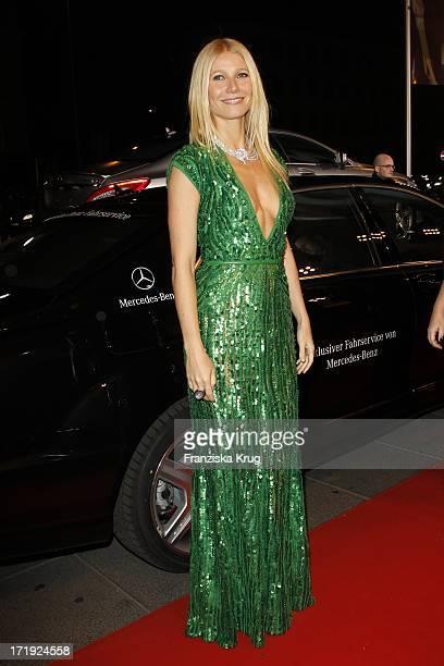 Gwyneth Paltrow Bei Der Ankunft Zur Bambi Verleihung 2011 In Den Rhein Main Hallen In Wiesbaden