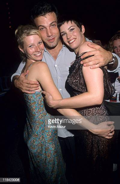 Gwyneth Paltrow Ben Afleck and Liv Tyler during 'Armageddon' Premiere at the Kennedy Space Center at Kennedy Space Center Florida United States