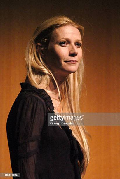 Gwyneth Paltrow during 2007 Sundance Film Festival 'The Good Night' Premiere QA at Eccles Theatre in Park City Utah United States