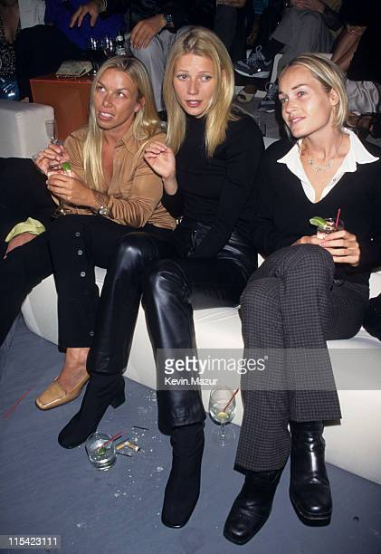 Gwyneth Paltrow during Giorgio Armani Party at Lexington Armory in New York City New York United States