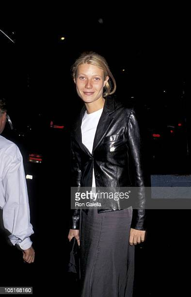 Gwyneth Paltrow during Premiere of 'The Englishman' at Ziegfeld Theater in New York City New York United States