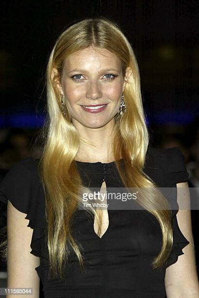 Gwyneth Paltrow during The Times BFI 49th London Film Festival 'Proof' Screening Arrivals at Odeon West End in London Great Britain