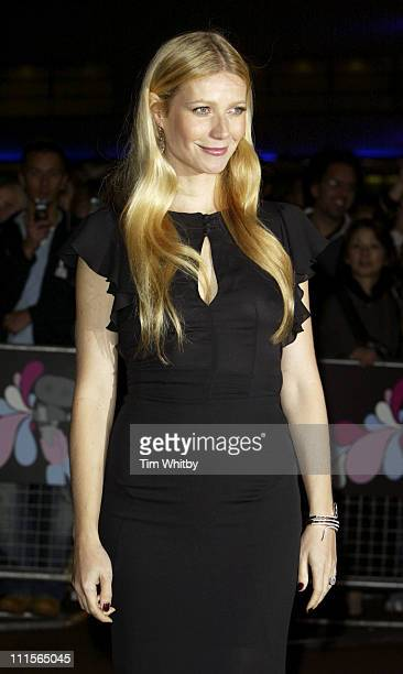 Gwyneth Paltrow during The Times BFI 49th London Film Festival Proof Screening Arrivals at Odeon West End in London Great Britain