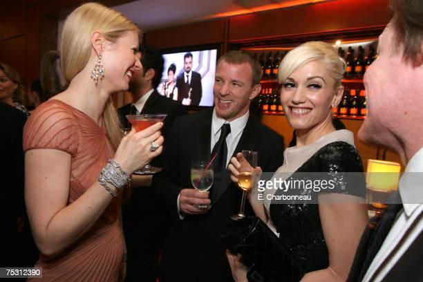 Gwyneth Paltrow Guy Ritchie and Gwen Stefani