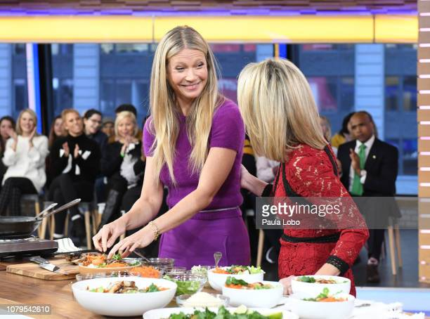 """Gwyneth Paltrow is a guest on """"Good Morning America,"""" on Wednesday, January 9 airing on the Walt Disney Television via Getty Images. GWYNETH PALTROW,..."""