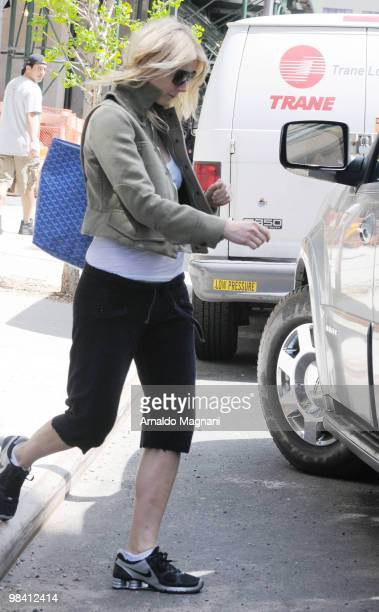 Gwyneth Paltrow is seen on April 12 2010 in New York City