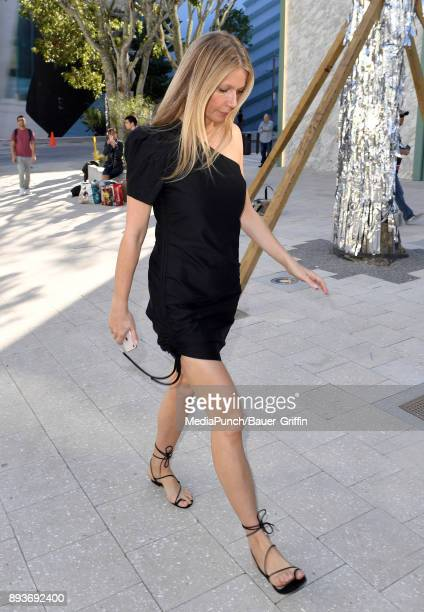 Gwyneth Paltrow is seen on December 15 2017 in Miami Florida