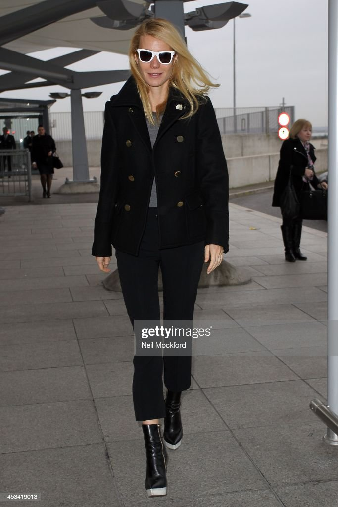 Celebrity Sightings In London - December 3, 2013