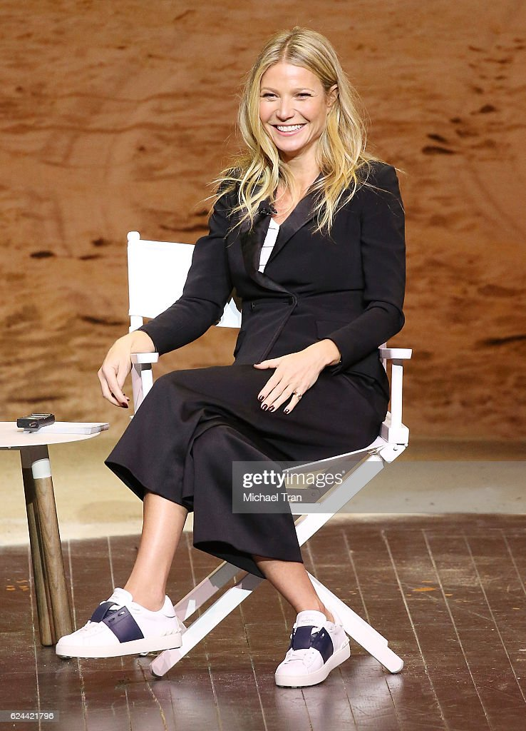 Gwyneth Paltrow speaks onstage during the 3rd Annual Airbnb Open Spotlight held at The Los Angeles Theater on November 19, 2016 in Los Angeles, California.