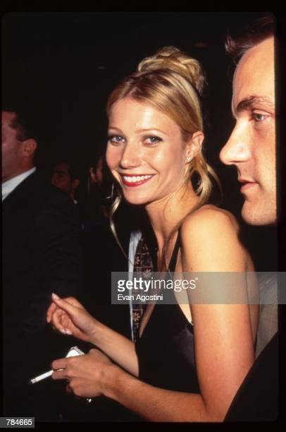 Gwyneth Paltrow stands at the premiere of Emma July 22 1996 in New York City This adaptation of Jane Austen's novel won an Academy Award for best...