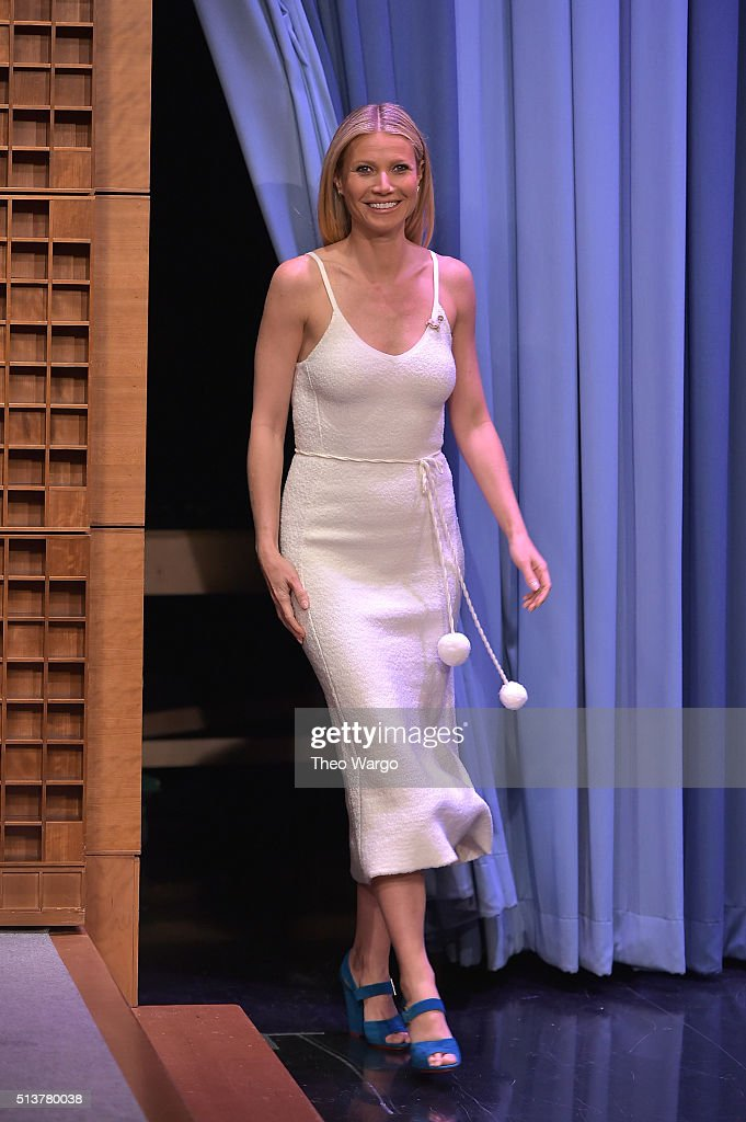 "Gwyneth Paltrow Visits ""The Tonight Show Starring Jimmy Fallon"""