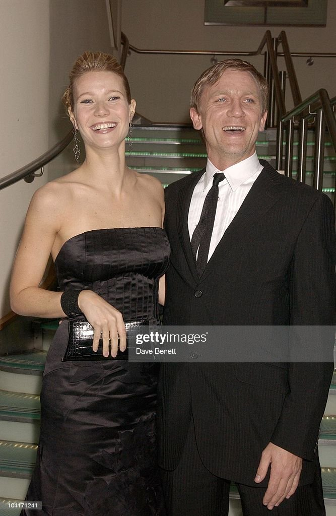 Gwyneth Paltrow With Daniel Craig, Sylvia Movie Screening Starring Gwyneth Paltrow At The Closing Gala Of The London Film Festival, At The Odeon, Leicester Square, London