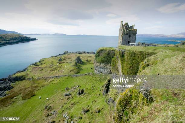 Gylen Castle and Firth of Lorne