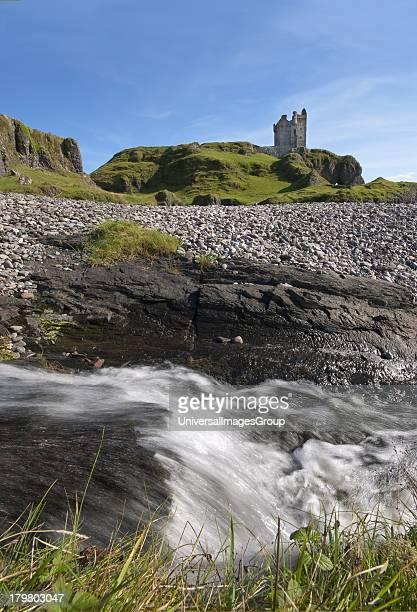 Gylen Castle, southern tip of Kerrera, Argyll, Scotland, United Kingdom.