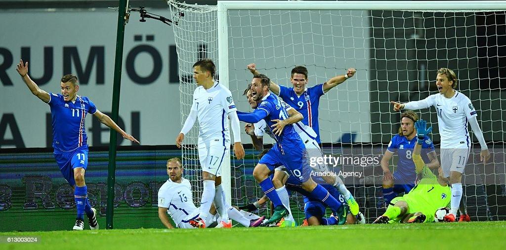 Iceland v Finland : UEFA 2018 World Cup Qualifying : News Photo