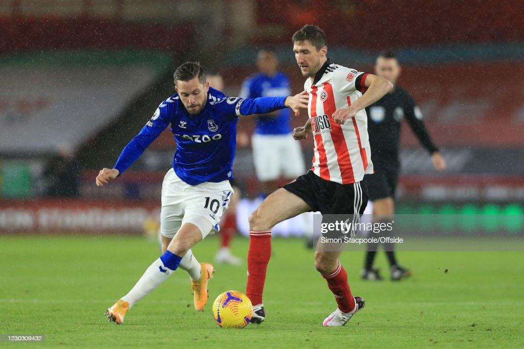 Sheffield United v Everton - Premier League : ニュース写真