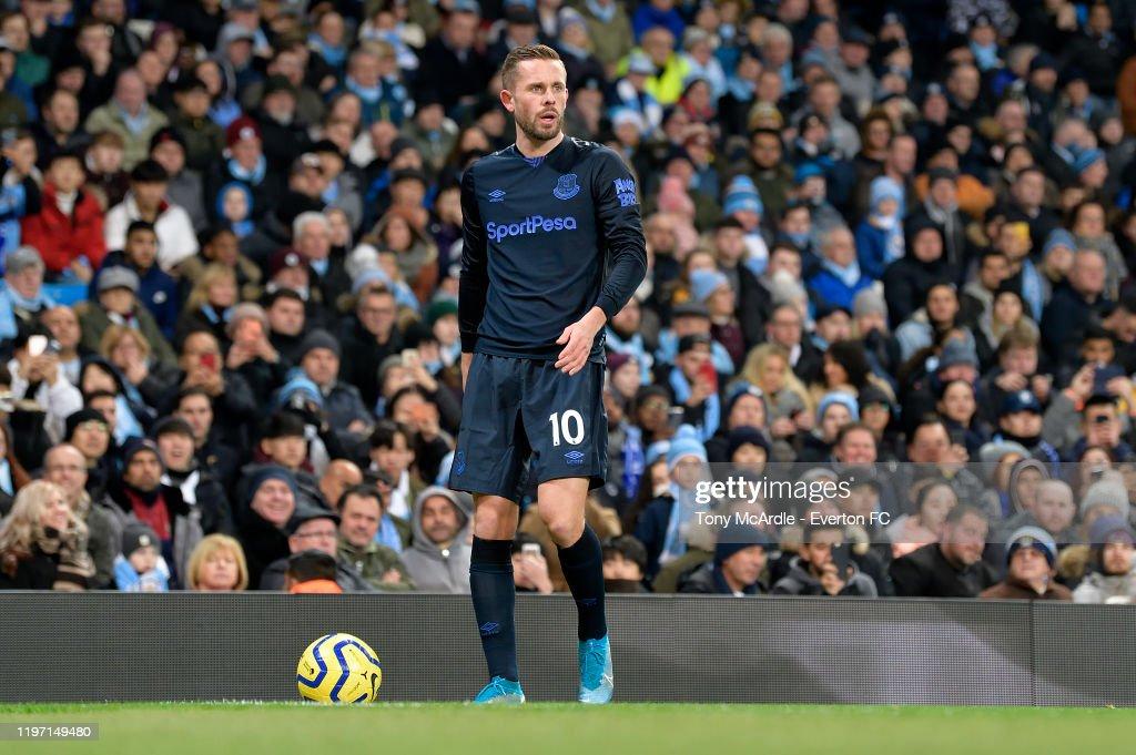 Manchester City v Everton FC - Premier League : Photo d'actualité