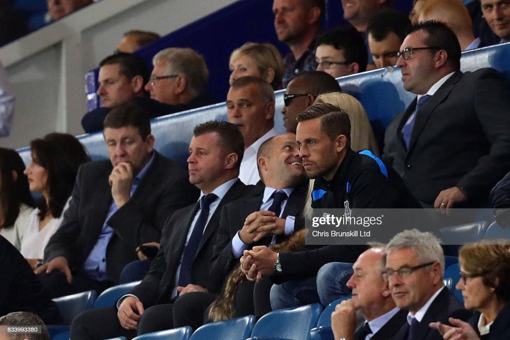 Everton FC v Hajduk Split - UEFA Europa League Qualifying Play-Offs Round: First Leg : News Photo