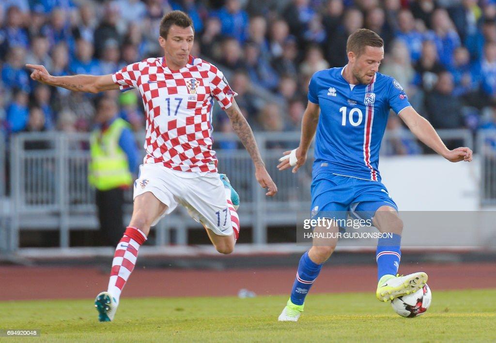 Gylfi Sigurdsson will be Iceland's key player. (HARALDUR GUDJONSSON/AFP/Getty Images)