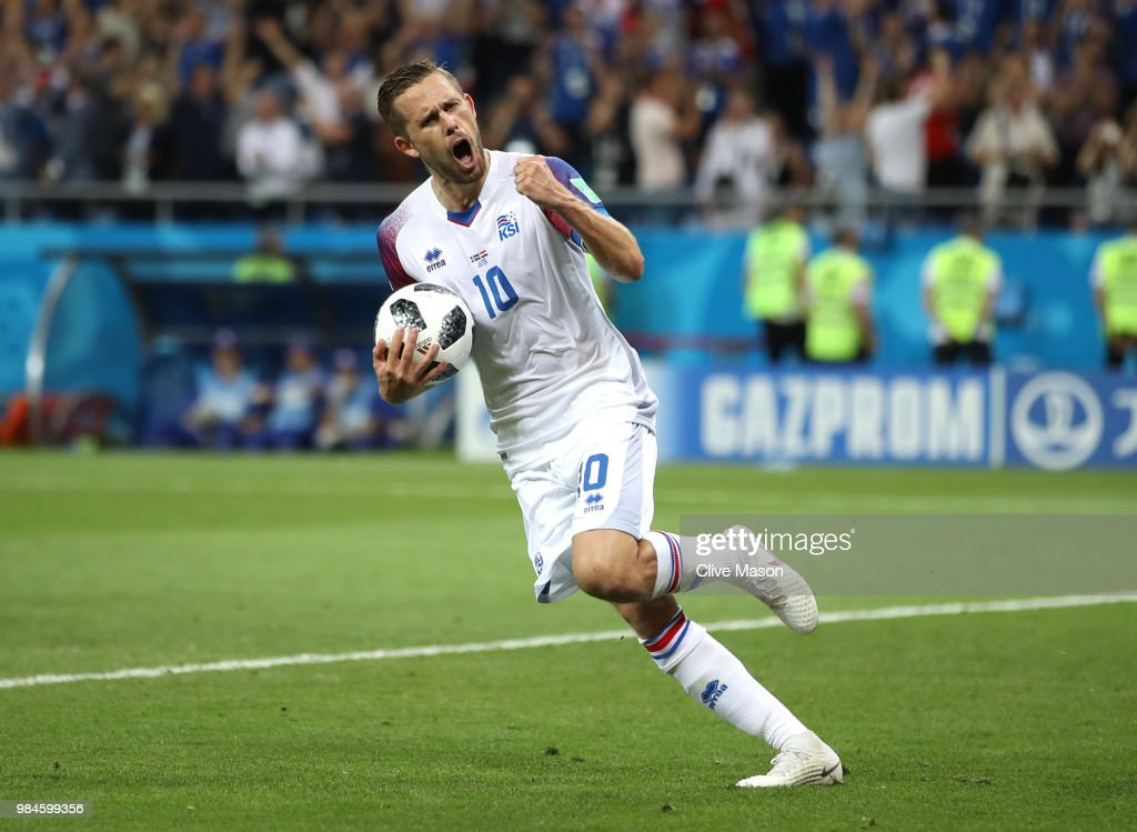 Iceland v Croatia: Group D - 2018 FIFA World Cup Russia