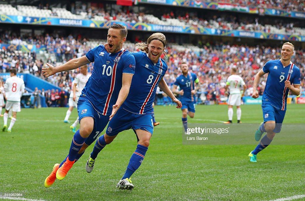 Iceland v Hungary - Group F: UEFA Euro 2016 : News Photo