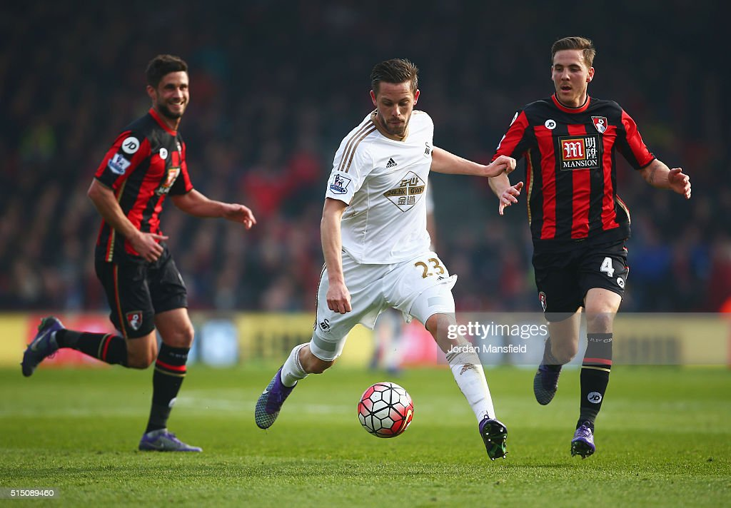 A.F.C. Bournemouth v Swansea City - Premier League : Fotografía de noticias