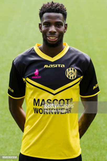 Gyliano van Velzen of Roda JC during the Photocall Roda JC at the Parkstad Limburg Stadium on July 12 2018 in Kerkrade Netherlands
