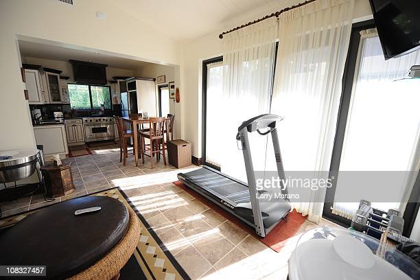 Gym at Jon Secada's home on January 13 2011 in Coral Gables Florida