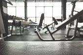 Gym background with Equipment