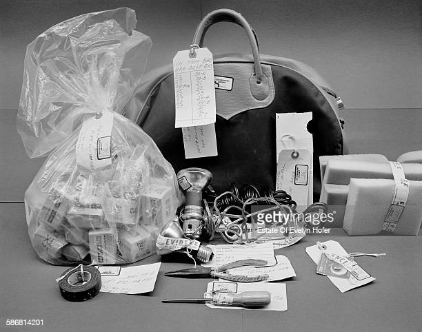 Gym Bag Government exhibit Watergate Washington 1974