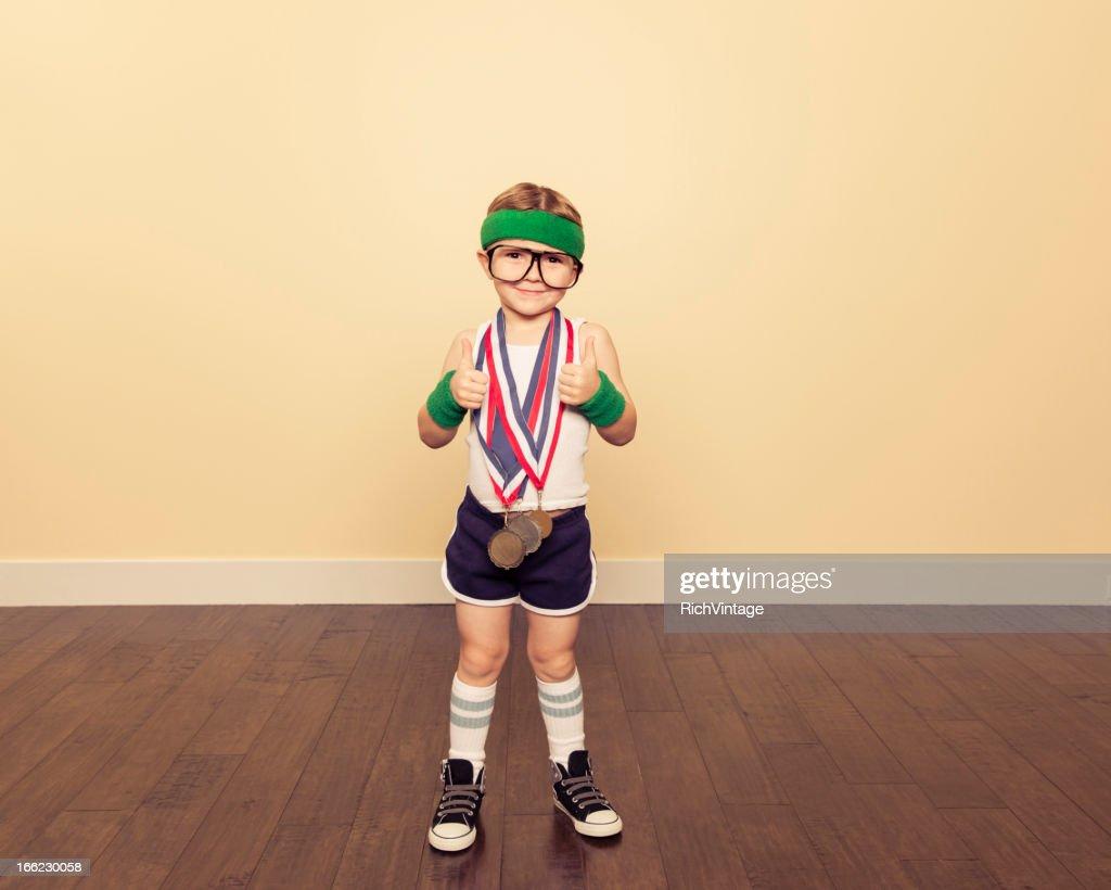 gym Champion : Stock Photo