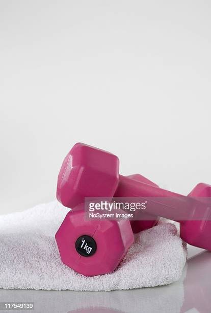 gym equipment - personal accessory stock photos and pictures