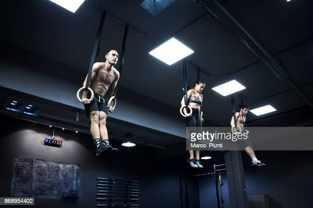 Gym fitness - Group Workout Gymnastic Ring
