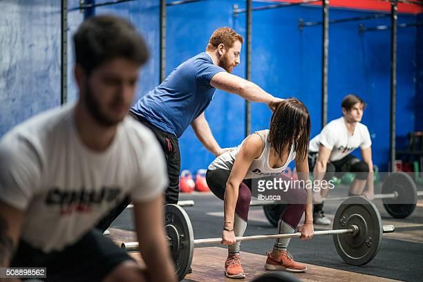 CrossFit Training : Gewichtheben-Klasse