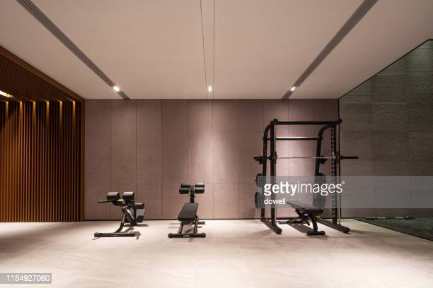 gym interior - gym stock pictures, royalty-free photos & images