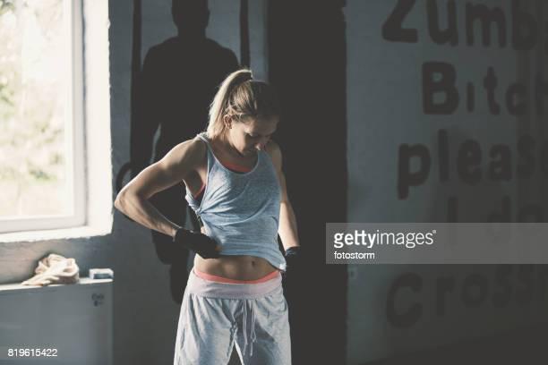 gym training done