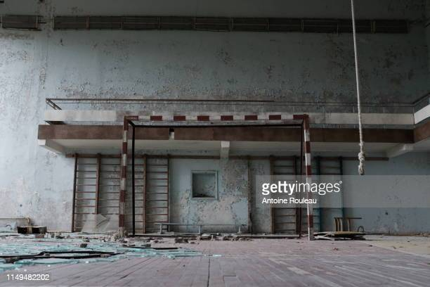 gymnasium - chernobyl stock pictures, royalty-free photos & images