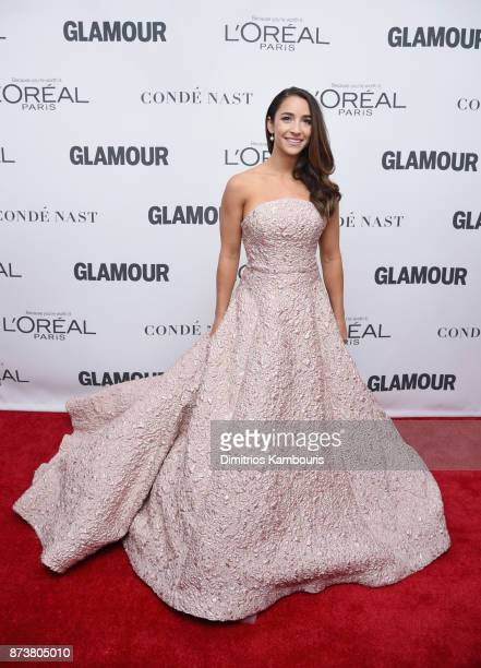 Gymnast Aly Raisman attends Glamour's 2017 Women of The Year Awards at Kings Theatre on November 13 2017 in Brooklyn New York