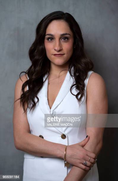 Gymnast Jordyn Wieber attends the United State of Women Summit on May 5 in Los Angeles California / The erroneous mention[s] appearing in the...