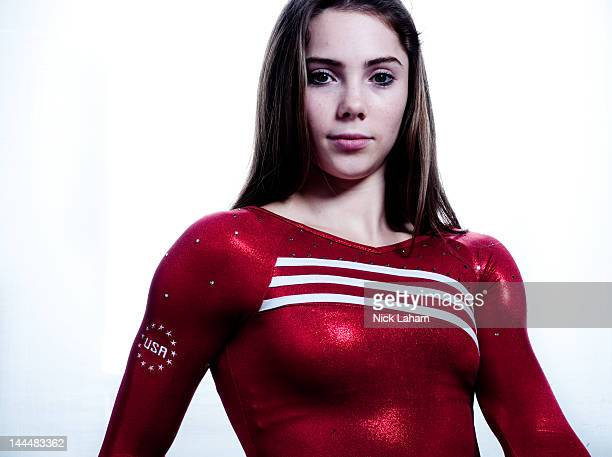 Gymnast, McKayla Maroney, poses for a portrait during the 2012 Team USA Media Summit on May 14, 2012 in Dallas, Texas.