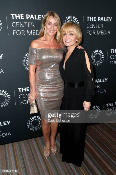 Gymnast Nadia Comaneci and actress Cathy Rigby attend Paley Honors in Hollywood A Gala Celebrating Women in Television at the Beverly Wilshire Four...