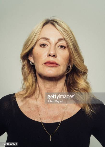 Gymnast Nadia Comaneci poses for a portrait on February 2018 in Monaco France