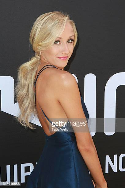 Gymnast Nastia Liukin attends Greg Louganis' Pre ESPY Awards Wheaties Breakfast for Champions at The Starving Artists Project on July 13 2016 in Los...