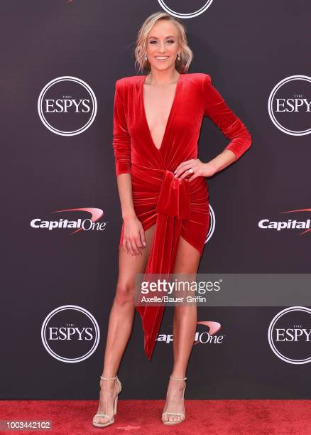 Gymnast Nastia Liukin attends The 2018 ESPYS at Microsoft Theater on July 18 2018 in Los Angeles California