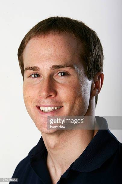 Gymnast Paul Hamm poses for a portrait during the Athlete Summit at Smashbox Studios on November 14 2007 in West Hollywood California